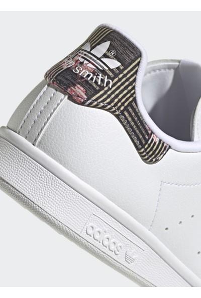 Adidas H04074 Stan Smith W Beyaz Kadın Lifestyle Ayakkabı