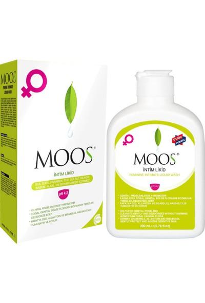 Moos Intim Likid - Genital Bölge Temizleyici Jel 200ml