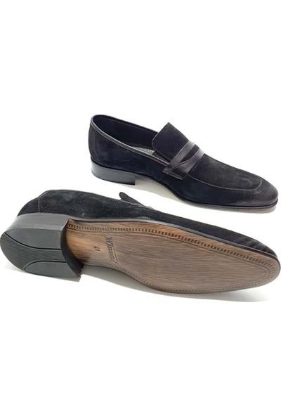 King West Winssto Deri Erkek Klasik Ayakkabı - Siyah - 41