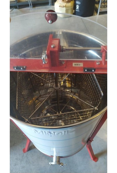 Apimaye Manuel Bal Süzme Makinesi, 4'lü F500 MN-004