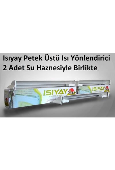 Isıyay 2 Adet Isıyay Petek Üstü Isı Yönlendirici Ayarlanabilir Ölçü 75-140 cm Arası Peteğe Uygun Isıfan