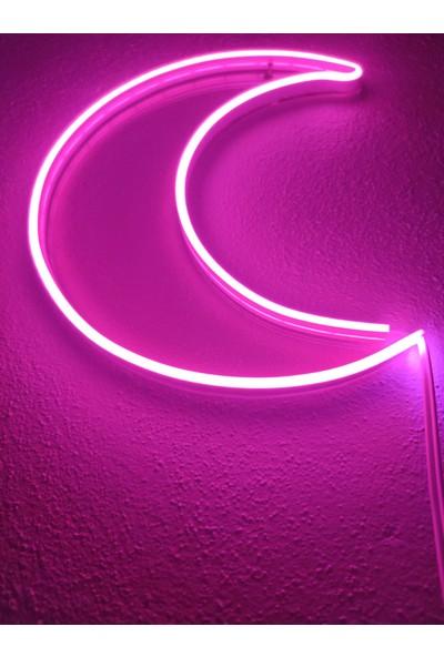 Dekoraven Ay Neon Dekoratif Aydınlatma