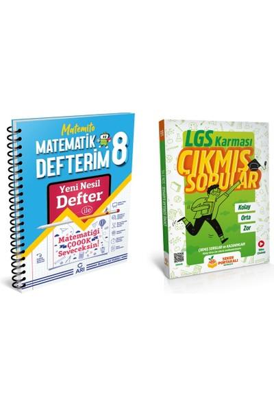 Arı Yayıncılık 8. Sınıf Matematik Yeni Nesil Akıllı Defter + Lgs Karması Çıkmış Sorular Soru Bankası