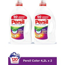 Persil Sıvı Çamaşır Deterjanı 2 x 4200ml (120 Yıkama) Color