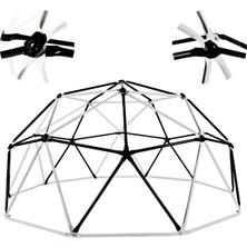 Game Domes Siyah Beyaz 180 cm Game Domes Oyun ve Tırmanma Alanı Bahçe Oyuncağı