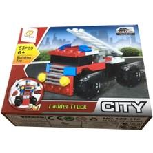 Farbu Oyuncak Farbu LEGO Araç Serisi 2 In 1 City Ladder Truck SP4649 123-115