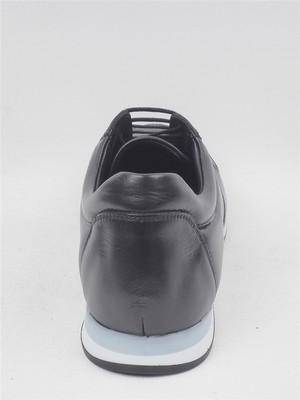 Chelsy Siyah Hakiki Deri Erkek Casual Ayakkabı Chelsy