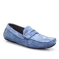 Cabani Makosen Günlük Erkek Ayakkabı Mavi Nubuk