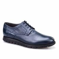 Cabani Extralight Günlük Erkek Ayakkabı Lacivert Kırma Deri