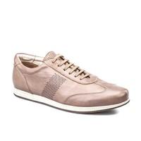 Cabani Bağcıklı Günlük Erkek Ayakkabı Vizon Soft Deri
