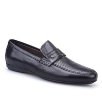 Cabani Makosen Günlük Erkek Ayakkabı Siyah Deri