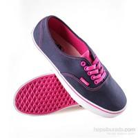 Vans Authentic Denim Lacivert-Pembe Kadın Ayakkabı