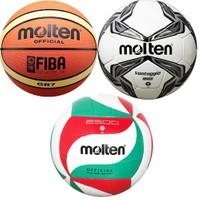 Molten Voleybol - Futbol - Basketbol Top Seti