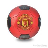 Manchester Black Red Futbol Topu N5