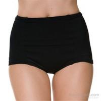 Onzie Yüksek Bel Bikini Alti Hws Black One Size