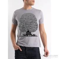 Köstebek Heavy Metal Ağacı Erkek T-Shirt