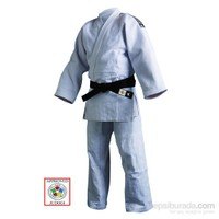 Adidas Champion II IJF Onaylı Judo Müsabaka Elbisesi Beyaz