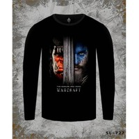 Lord T-Shirt Warcraft - Two Worlds One Home