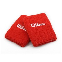W Double Wrist Band Red