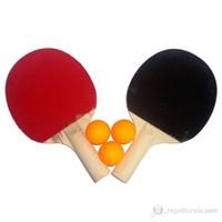 Sportica R100 Masa Tenisİ Raketi( 2 raket+3 Top)