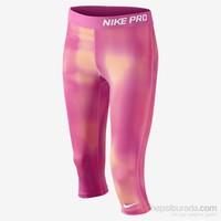Nike Pro Aop Capri Yth Çocuk Tayt