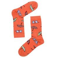 The Socks Company Umbrellas Desenli Kadın Çorap 36-40 Numara