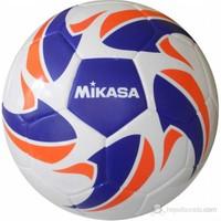 Mikasa Kaynaklı Futbol Topu Mavi-Beyaz