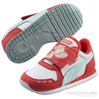 Puma Cabana Racer Tom & Jerry V Çocuk Kırmızı Spor Ayakkabı (3594