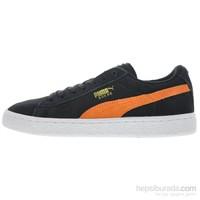 Puma Suede Jr Siyah Bayan Spor Ayakkabı