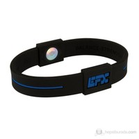 EFX Sport Silikon Bileklik Siyah Mavi