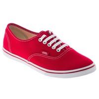 Vans Authentic Lo Pro Günlük Spor Ayakkabı Kırmızı Vqes6m4