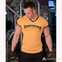 Bodydrom 004-06-Bdt Düşük Kol Turuncu T-Shirt