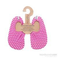 Slipstop Pink Heart Kız Kaydırmaz Ayakkabı/Patik