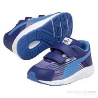 Puma Sequence V Bebek Mavi Spor Ayakkabı (358663-051)
