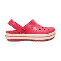 Crocs Terlik Crocband Kids P022559-10998-604 Raspberry/White
