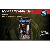 Winmau Mark Webster % 90 Tungsten Plastik Uçlu Dart - 16 Gram