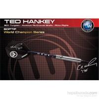 Winmau Ted Hankey % 90 Tungsten Plastik Uçlu Dart Atomised Grip -18 Gram