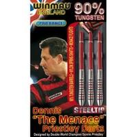Winmau 2211-Dennis Prıestley 90%Tungsteng Plastik Uçlu Dart (profesyonel Seviye)