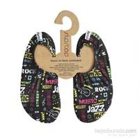 Slipstop Guitar Unisex Çocuk Kaydırmaz Ayakkabı/Patik