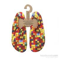 Slipstop Checked Yetişkin Kaydırmaz Ayakkabı/Patik