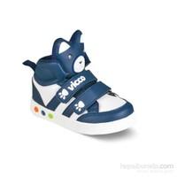 Vicco Çift Cırtlı Işıklı Spor Ayakkabı Lacivert
