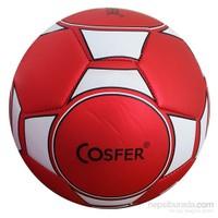 Cosfer dikişli Futbol Topu Kırmızı No:5