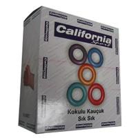 California 20 Li Kutuda Kauçuk Sıksık