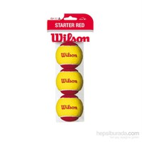 Wilson Starter Tenis Topu 3'lü - STARTER RED ( WRT137001 )