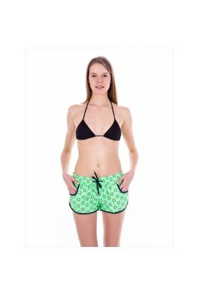 Ayyıldız 67801 Yeşil Yıldız Bayan Deniz Şortu