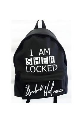 Köstebek I Am Sher Locked Sırt Çantası Kbsç002