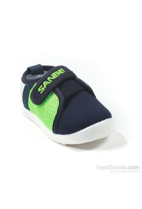 Sanbe Erkek Çocuk Keten Ayakkabı - 402 H 122 Yeşil