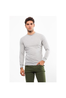 Adze Koyu Gri Erkek 2 İplik Sweatshirt