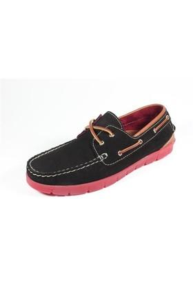 Commodore 218-38-020-10 Siyah Ayakkabı