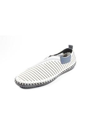 Commodore 249-1001 Beyaz Lazer Erkek Ayakkabı